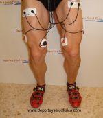 Eletroestimulação e treino. Parar e reiniciar uma sessão